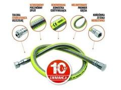 Wąż do gazu, przyłącze elastyczne LECHAR 1,5m